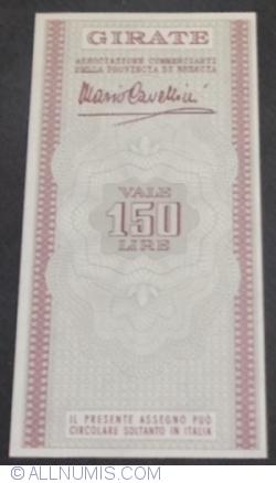 Image #2 of 150 Lire 1977 (3. XI.) - Brescia