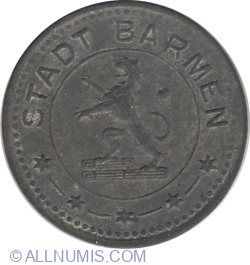 Image #2 of 10 Pfennig 1917 - Barmen