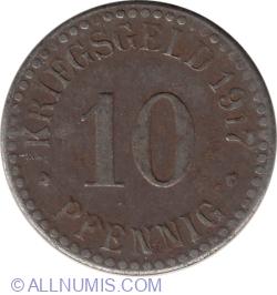 Image #1 of 10 Pfennig 1917 - Cassel
