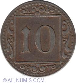Image #1 of 10 Pfennig 1918 - Münster (Muenster)