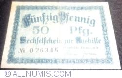 Imaginea #1 a 50 Pfennig 1920 - Lübeck
