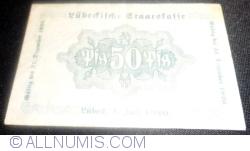 Imaginea #2 a 50 Pfennig 1920 - Lübeck