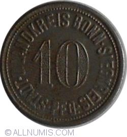 10 Pfennig 1918 - Bonn