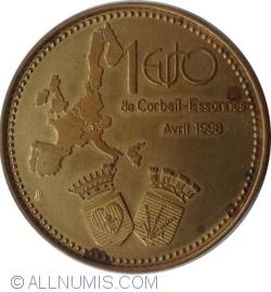 Imaginea #1 a 1 Euro 1998 - Corbeil-Essonnes