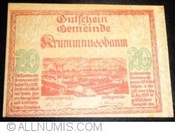 Image #1 of 20 Heller 1920 - Krummnußbaum