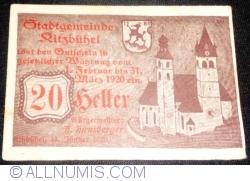 Imaginea #1 a 20 Heller 1920 - Kitzbühel