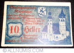 Imaginea #1 a 10 Heller 1920 - Kitzbühel