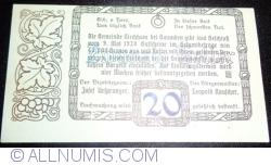 Imaginea #2 a 20 Heller 1920 - Kirchham