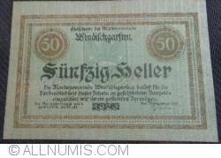 Imaginea #1 a 50 Heller 1920 - Windisckgarsten