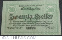 Imaginea #1 a 20 Heller 1920 - Windisckgarsten
