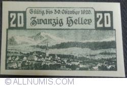 Imaginea #2 a 20 Heller 1920 - Windisckgarsten
