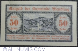 Imaginea #1 a 50 Heller 1920 - Wendling