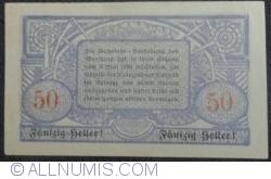 Imaginea #2 a 50 Heller 1920 - Wendling