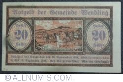 Imaginea #1 a 20 Heller 1920 - Wendling
