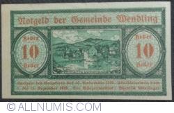 Imaginea #1 a 10 Heller 1920 - Wendling
