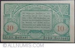 Imaginea #2 a 10 Heller 1920 - Wendling