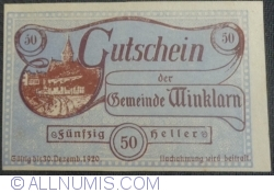 Imaginea #1 a 50 Heller 1920 - Winklarn