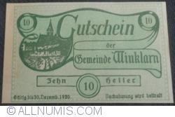 10 Heller 1920 - Winklarn