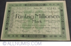 Image #1 of 50000000 (50 Millionen) Mark 1923 - Solingen