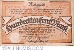Image #1 of 100,000 Mark 1923 - Dortmund