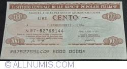 100 Lire 1977 (6. VII.) - Pisa