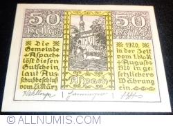 Image #1 of 50 Heller 1920 - Aspach