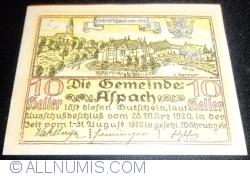 10 Heller 1920 - Aspach