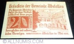 Image #1 of 20 Heller 1920 - Abstetten