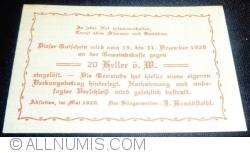 Image #2 of 20 Heller 1920 - Abstetten