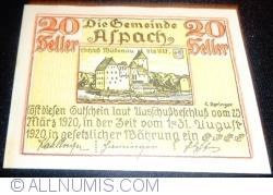 20 Heller 1920 - Aspach