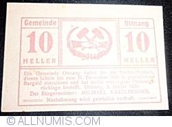 Imaginea #1 a 10 Heller 1920 - Ottnang