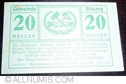 Imaginea #1 a 20 Heller 1920 - Ottnang