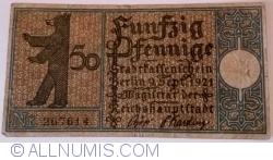 50 Pfennig 1921 (6) - Berlin