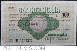Image #1 of 100 Lire 1977 (14. II.) - Torino