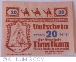 Image #1 of 20 Heller 1920 - Timelkam