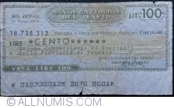 Imaginea #1 a 100 Lire 1976 (23. III.) - Vicenza