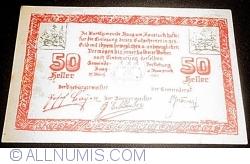 Imaginea #1 a 50 Heller 1920 - Haag am Hausruck