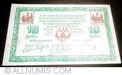 Imaginea #1 a 10 Heller 1920 - Haag am Hausruck