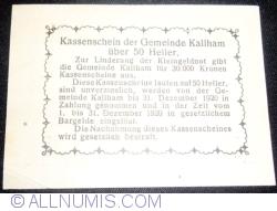 Image #2 of 50 Heller 1920 - Kallham