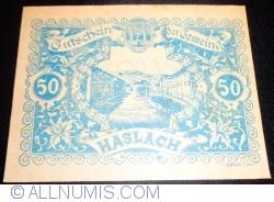 Image #1 of 50 Heller 1920 - Haslach