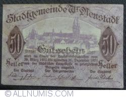 Image #1 of 50 Heller 1920 - Wiener Neustadt