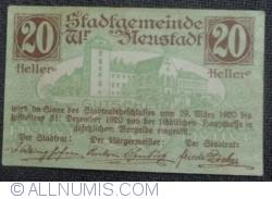 20 Heller 1920 - Wiener Neustadt