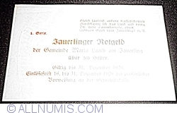 Imaginea #2 a 50 Heller ND - Maria Laach am Jauerling (1. Serie)