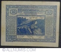 Imaginea #1 a 10 Heller 1920 - Hinterbrühl