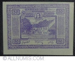 Imaginea #1 a 50 Heller 1920 - Hinterbrühl