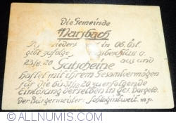 Imaginea #2 a 80 Heller 1920 - Marsbakh
