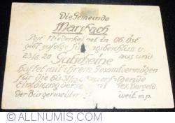 Imaginea #2 a 50 Heller 1920 - Marsbakh