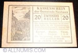 Imaginea #1 a 20 Heller ND - Neuhaus (A II-a emisiune - Zweite Auflage)