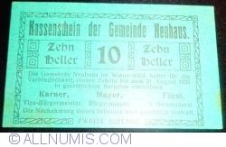 Imaginea #1 a 10 Heller ND - Neuhaus (A II-a emisiune - Zweite Auflage)
