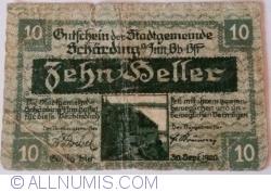 Imaginea #1 a 10 Heller 1920 - Schärding